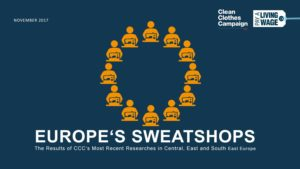 "Veranstaltung ""Europe's Sweatshops"" am 9. November in Berlin"