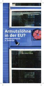 Armutslöhne in der EU – Bekleidungsindustrie in Osteuropa